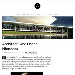 Architect Day: Oscar Niemeyer