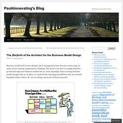 The (Re)birth of the Architect for the Business Model Design