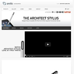 The Architect Stylus | Arctic Accessories