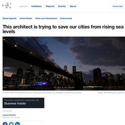 *****Adaptation: This architect is trying to save our cities from rising sea levels