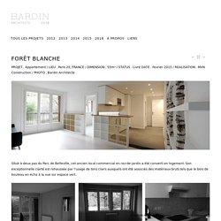 FORÊT BLANCHE - Architecte Paris 18ème - BARDIN ARCHITECTE - Architecture intérieur Paris