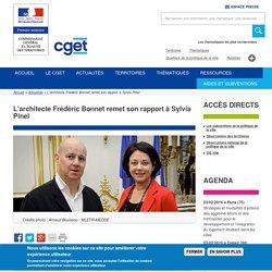 L'architecte Frédéric Bonnet remet son rapport à Sylvia Pinel