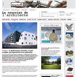 A Hellemmes (Nord), CAAU sculpte 42 logements avec panache
