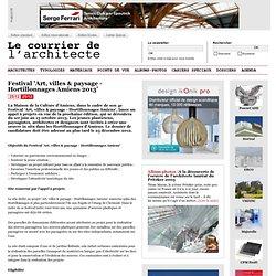 Festival 'Art, villes & paysage - Hortillonnages Amiens 2013'