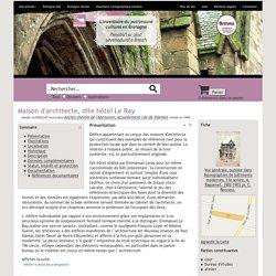 Gertrude - Maison d'architecte, dite hôtel Le Ray - Inventaire Général du Patrimoine Culturel (1.3.0 (Build: 92))