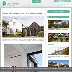 Extension bois par Niney et Marca architectes à Ambon (56), France