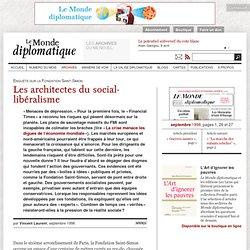 Les architectes du social-libéralisme, par Vincent Laurent
