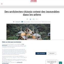 Des architectes chinois créent des immeubles dans les arbres - Figaro Immobilier