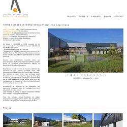 Agence Goulard - Brabant - Loïez Architectes Associés - TROIS SUISSES INTERNATIONAL Plateforme Logistique