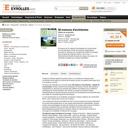 50 maisons d'architectes - V. McLeod
