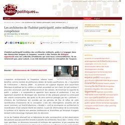 Les architectes de l'habitat participatif, entre militance et compétence