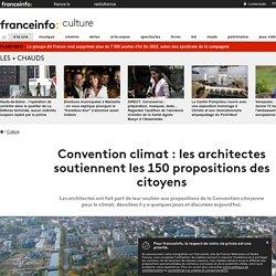 Convention climat : les architectes soutiennent les 150 propositions des citoyens