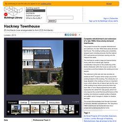 AJBL - Hackney Townhouse - ZS Architects (now amalgamated to form ZCD Architects)