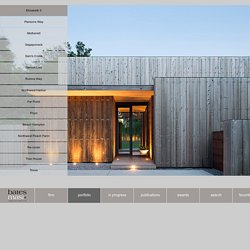 Bates Masi Architects - Portfolio