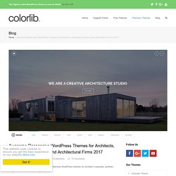 Best WordPress Themes for Architects and Architectural Firms 2016 - colorlib