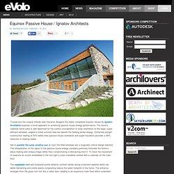 Equinox Passive House / Ignatov Architects