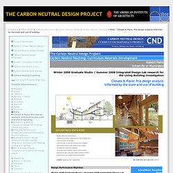 American Institute of Architects - Curriculum Materials Development