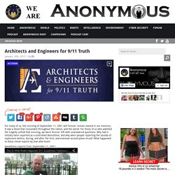 Architects and Engineers for 9/11 Truth AnonHQ