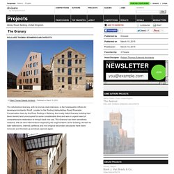 Pollard Thomas Edwards Architects — The Granary