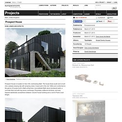 Dow Jones Architects — Prospect House