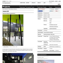 Lorcan O'herlihy Architects — Habitat 825