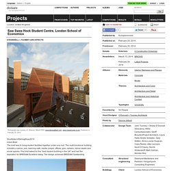 O'Donnell + Tuomey Architects — Saw Swee Hock Student Centre, London School of Economics - Divisare by Europaconcorsi