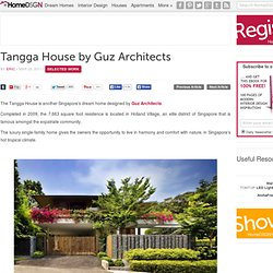 Tangga House by Guz Architects | HomeDSGN, a daily source for inspiration... - StumbleUpon