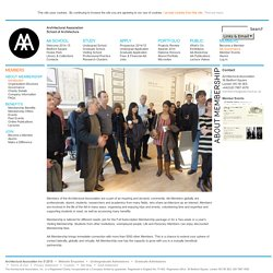 Members at the Architectural Association