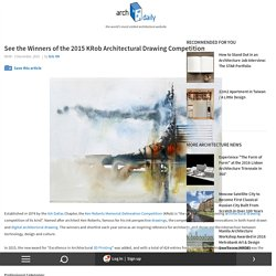 See the Winners of the 2015 KRob Architectural Drawing Competition