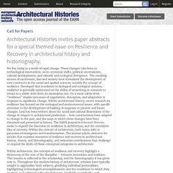 Architectural Histories