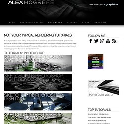 TUTORIALS - alex hogrefe architecture blog