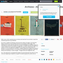 federico babina - Project - Archizoo - An architectural Pareidolia