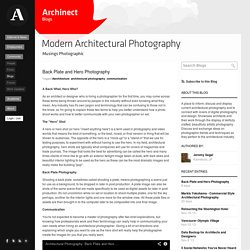 Modern Architectural Photography