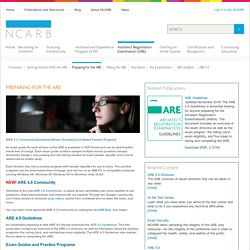 NCARB - National Council of Architectural Registration Boards