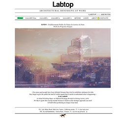 Labtop : architectural rendering at work - Thomas Sériès - Auralab ®