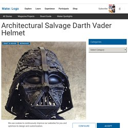 Architectural Salvage Darth Vader Helmet