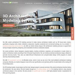 3D Architectural Modeling Services