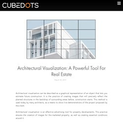 3D Architectural visualisation Tool For Real Estate