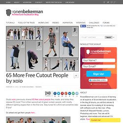 65 More Free Cutout People by xoio