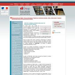 Énap - Ressources en ligne / Parcours thématiques / Regards sur l'architecture carcérale - 19ème - 20ème siècles / Variations architecturales autour de l'emprisonnement cellulaire