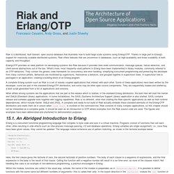 Riak and Erlang/OTP