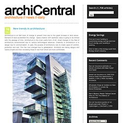 architecture // news // daily @ archiCentral - Part 2