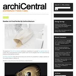 Panelion: Art Fund Pavilion By Cre8 Architecture