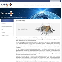 Architectural CAD Drafting Services at AABSyS