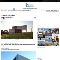 Casa Bromelia / Urban Recycle Architecture Studio