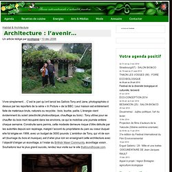 Architecture : l'avenir…
