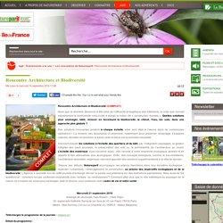 Rencontre Architecture et Biodiversité