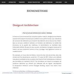 Design et Architecture