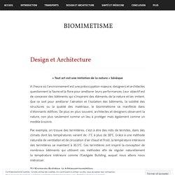 Design et Architecture