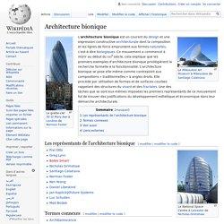 Architecture bionique